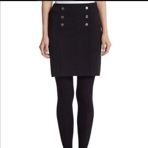 WHBM black sailor skirt